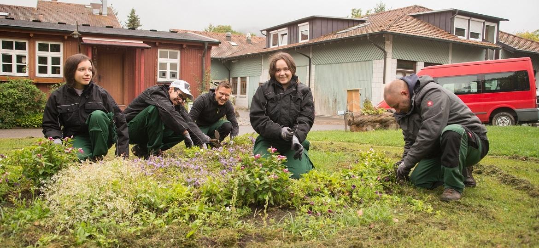 Berufsvorbereitung im Pestalozzi Kinderdorf